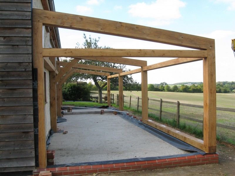 How Much For Timber Framed Quot Extension Quot With Glazed Roof